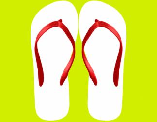 Blank flip flop