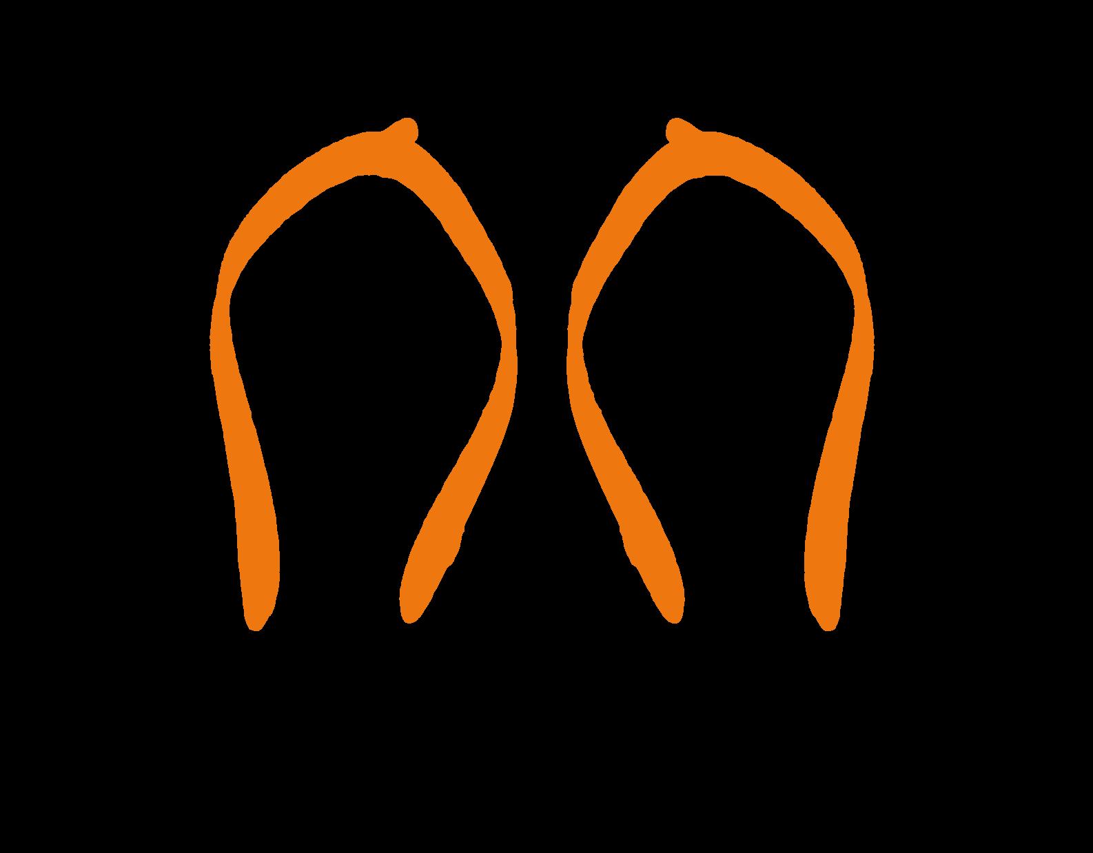 Orange straps