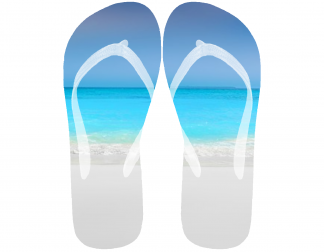 Flip flops sea image for Hidden retreats