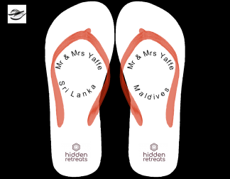 Flip flops Logo image for Hidden retreats