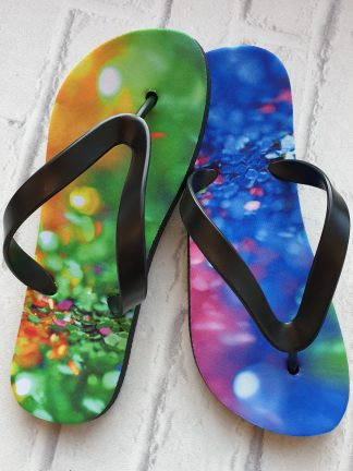 Sparkle colourful Flip Flops